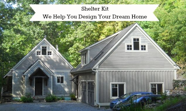 Don't let our name fool you. We've been in business for over 44 years and have helped people build custom-designed homes all over the country. Call us, Email us, Connect with us, here on Facebook. We want to help you design your home!  E: shelterkit@gmail.com T: (603) 456-3801