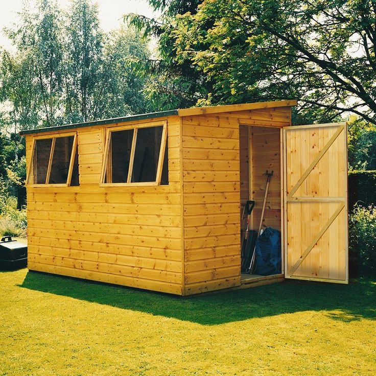 Shire Norfolk Pine Shiplap Timber Lean To Shed  10x10 (Pine Log Optional)