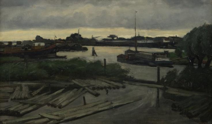 Balkengat van scheepswerf De Biesbosch, B.C. Noltee, 1903-1967