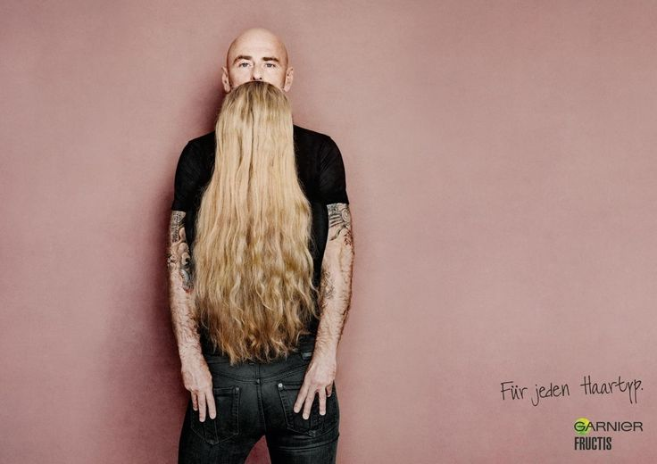Check out this Garnier Fructis ad...do you see it...do you?