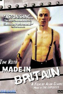 Made in Britain directed by Alan Clarke    Tim Roth's performance as the 16 year old skinhead Trevor is incredible.  This movie takes me right back to the 80s.  Quality British flick!