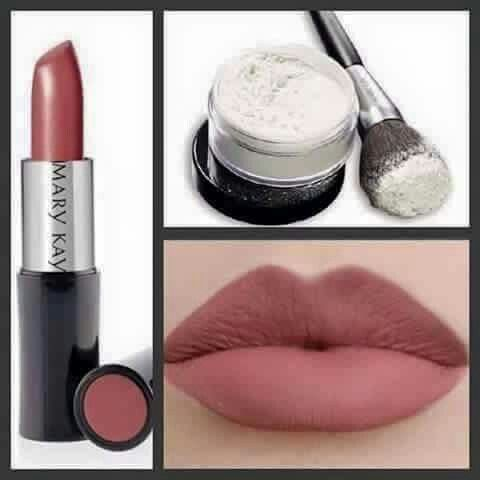 Mary kay translucent powder. Matify your lipstick with the best translucent powder ever.