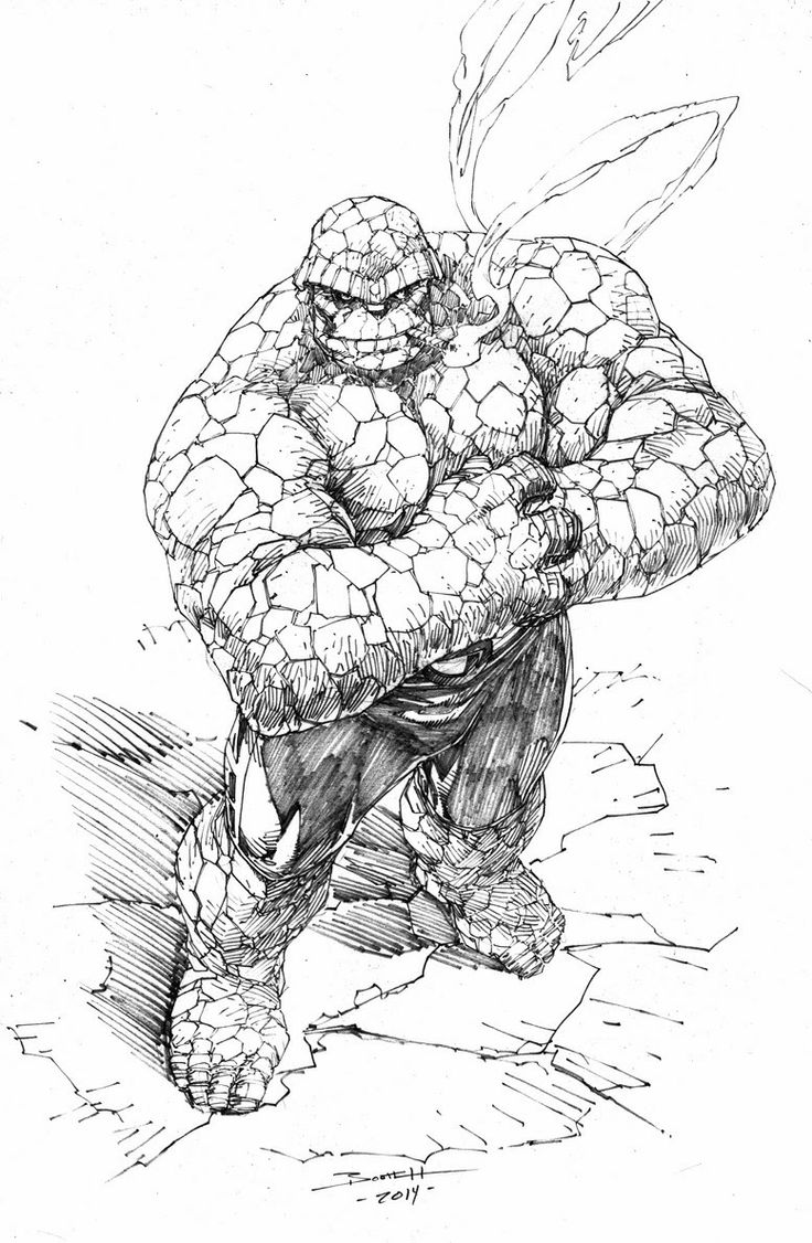 51 best Fantastic Four ~ Thing images on Pinterest ...