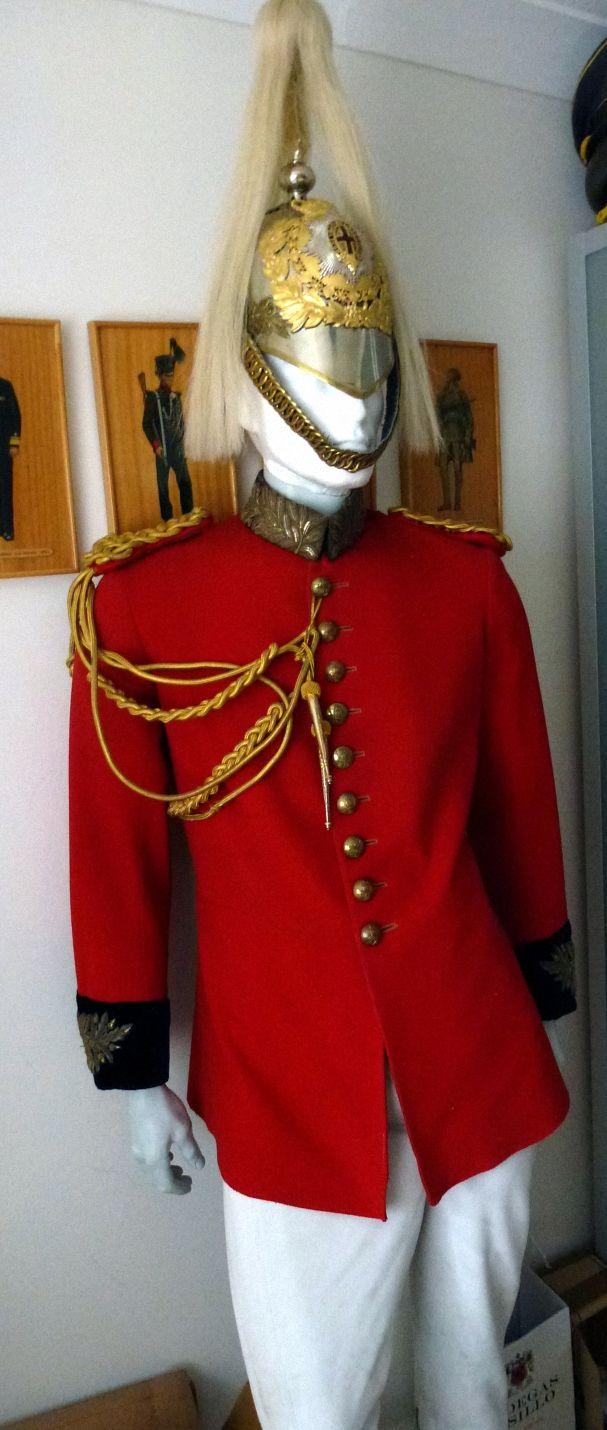 Life Guards Officers ceremonial uniform
