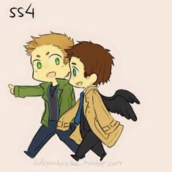 destiel funny fluff - Google Search ~ HOW IS THIS FUNNY?!
