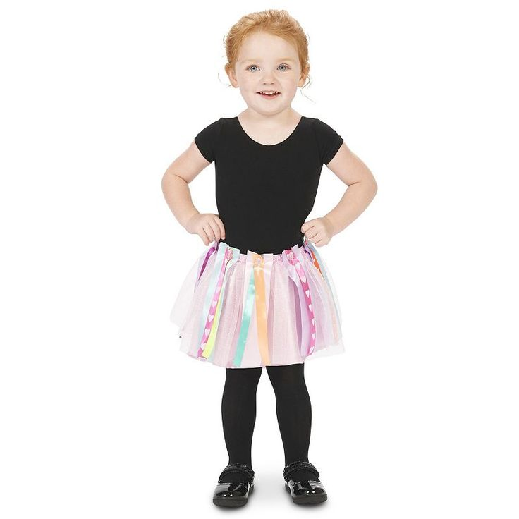 Toddler DIY Create-Your-Own Costume Tutu, Girl's, Size: 2T-4T, Multicolor