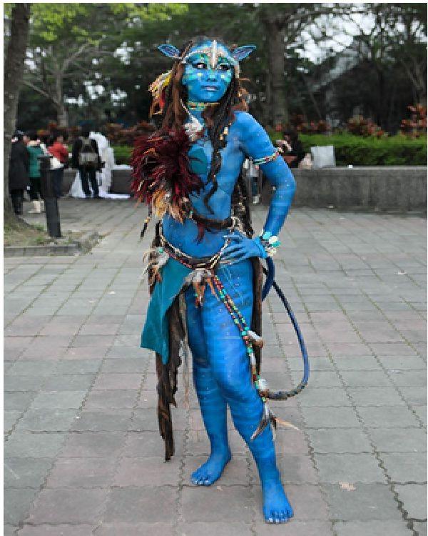 Real Avatar Girl: 79 Best Images About Neytiri On Pinterest
