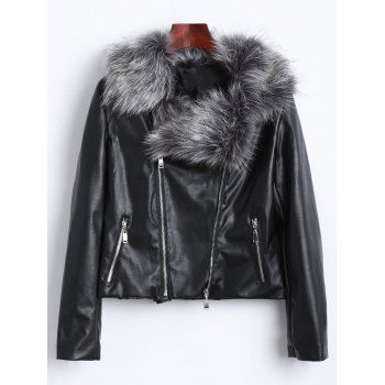 SHARE & Get it FREE | Zippers Faux Fur Biker JacketFor Fashion Lovers only:80,000+ Items·FREE SHIPPING Join Dresslily: Get YOUR $50 NOW!