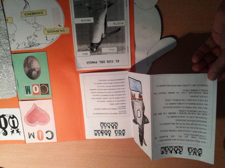 Projecte Pingüins. Presentació LAPBOOK 5