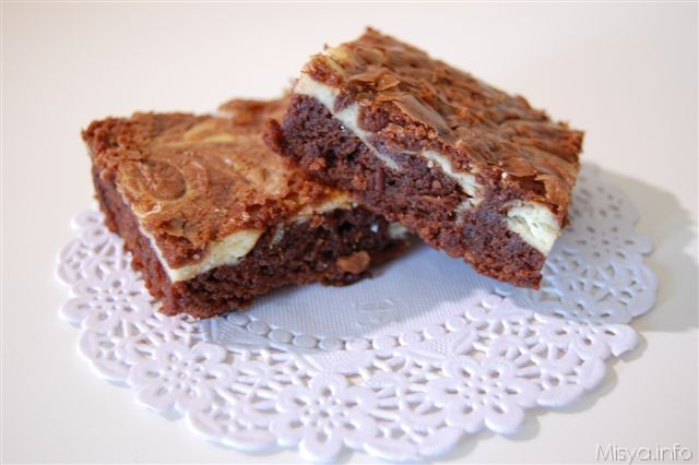 » Brownies al cioccolato - Ricetta Brownies al cioccolato di Misya