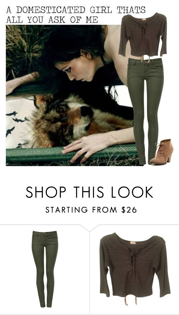 """""""She Wolf- Shakira"""" by kimabalee ❤ liked on Polyvore featuring Parisian, Brandy Melville and MIA"""