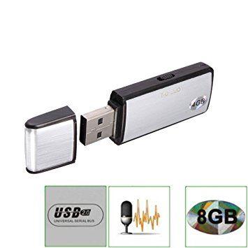 Mini Micro voix enregistreur audio espion 8GB