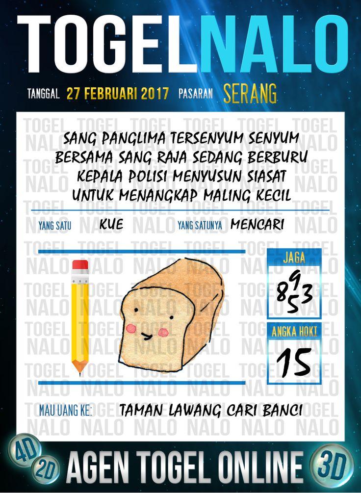 Lotre Taysen 4D Togel Wap Online Live Draw 4D TogelNalo Serang 27 Februari 2017