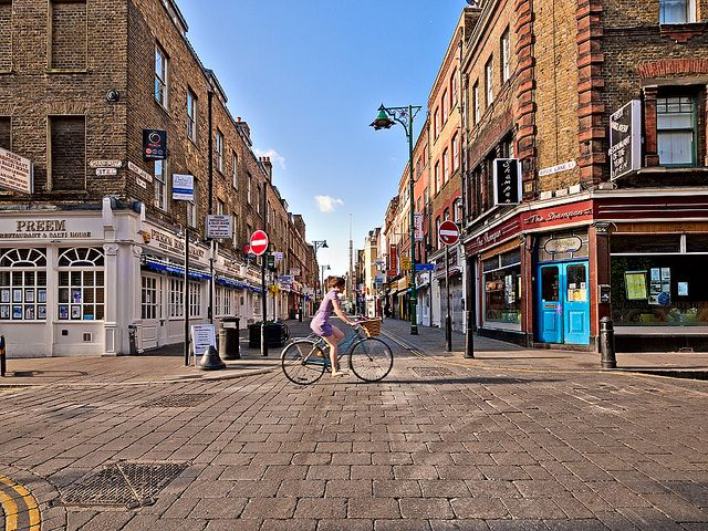 Brick Lane, London. @Anna Proell remember when we went out here?!