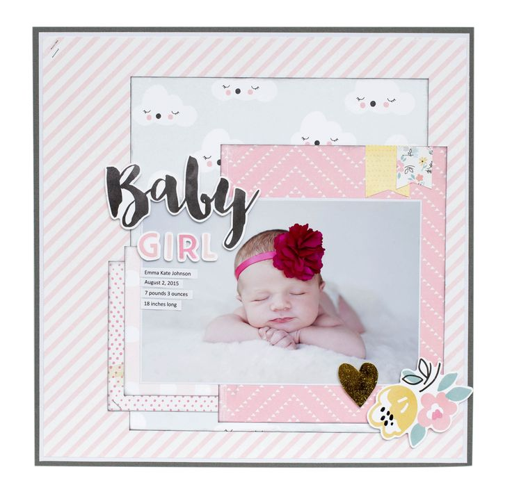 Precious Little You Collection from Crate Paper - Scrapbook.com