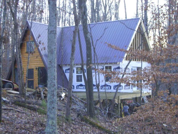 20x32 A Frame Cabin Central Ky A Frame Cabin A Frame House Plans A Frame House