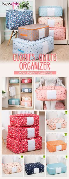 How to organizer clothes quilts in 1 minutes? get it by visit botton ~~