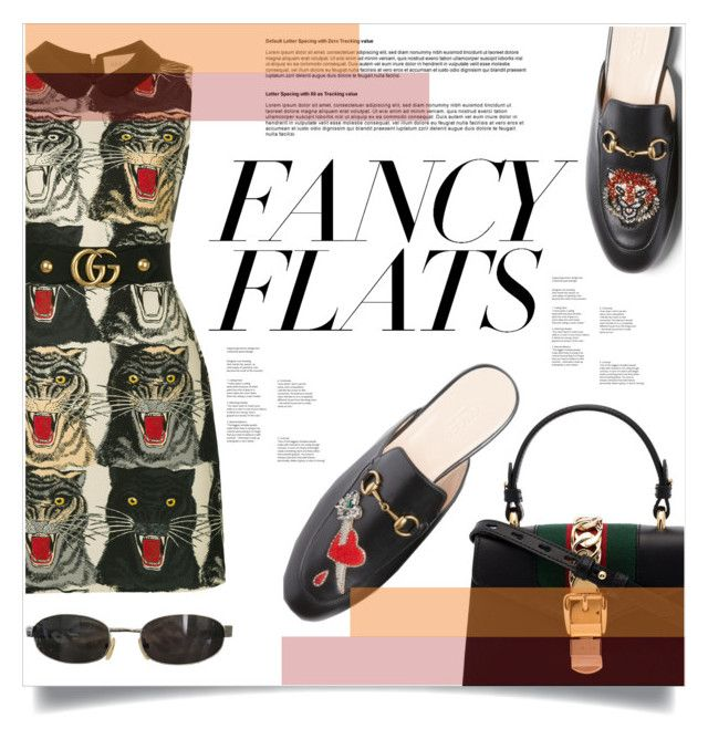 """""""fancy flats / gucci flats"""" by featherbread ❤ liked on Polyvore featuring Gucci, Tom Ford, chicflats and fancyflats"""