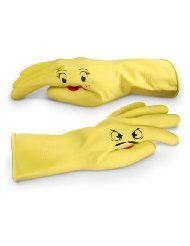 Gotta have fun while you work.Dishes Gloves, Friends Dishplay, Dishes Wash, Kitchens Dining, Handpuppets Dishes, Hands Puppets Dishes, Helpful Hands, Hands Pals, Dishplay Hands Puppets