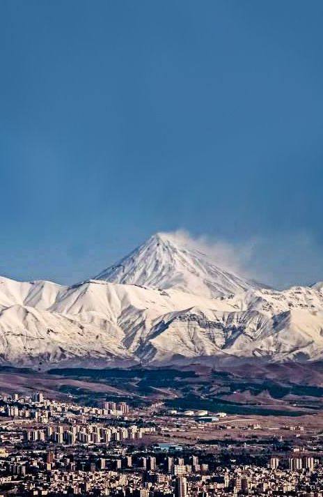 ♥ Damavand Mountain, Tehran - IRAN