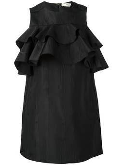 короткое платье с оборками