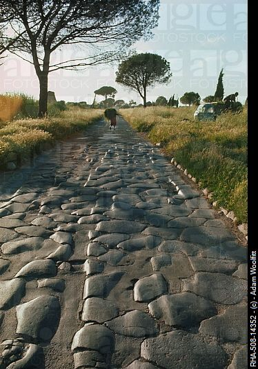✮ Appian Way, Rome...constructed over 2000 years ago and still in use today.