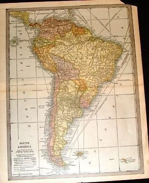 25 Best Ideas About South America Map On Pinterest
