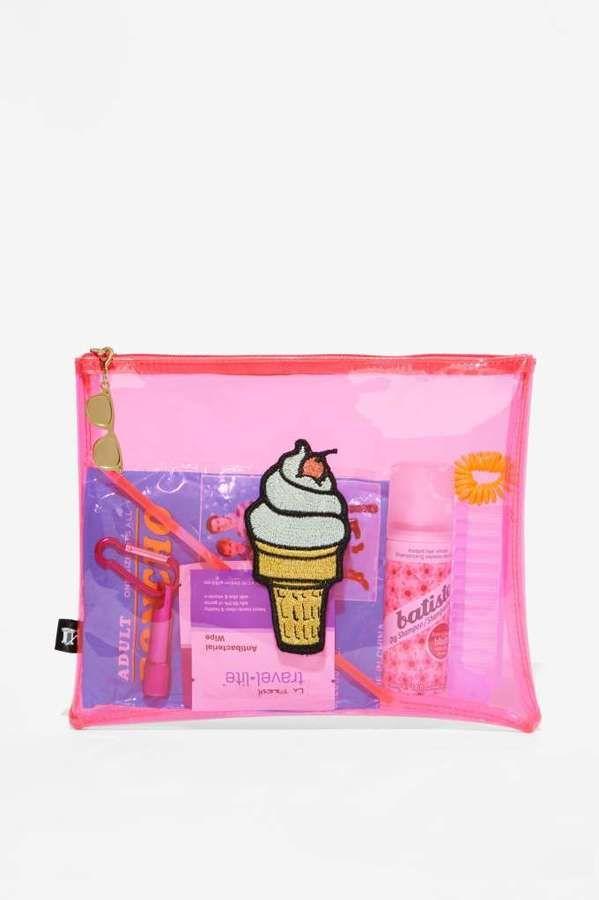 Pink Ice Cream Bag