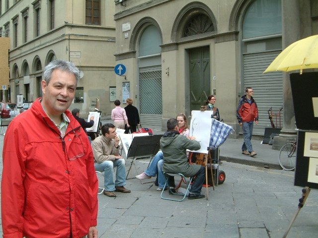Peter in Florence, Italy