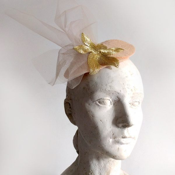 DUNA Fascinator hat made by Eventivity Accessorize