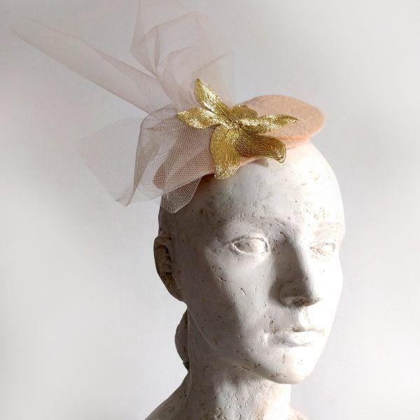 DUNA Fascinator hat made by Eventivity Accessorize