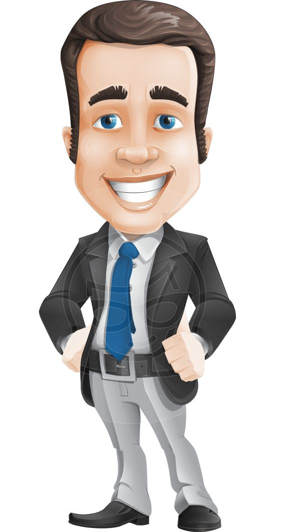 Cartoon Characters In Suits : Best images about business vector cartoons on pinterest