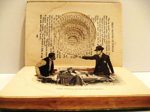 Carving Culture: Sculptural Masterpieces Made from Old Books | Brain Pickings