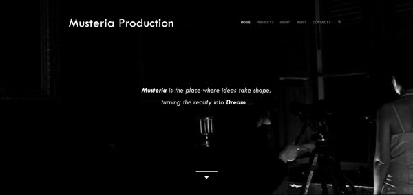 Musteria Production - An Independent Film Production by Elio Tornincasa, via Behance