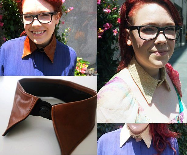 DIY: Collar Necklace by our oh-so-talented intern, Meg: Collar Necklace, Ideas, Diy Crafts Patterns, Diy Necklaces, Necklaces Clever, Myown Collars Necklaces, Diy Collars, Collars Patterns, Necklaces Diy
