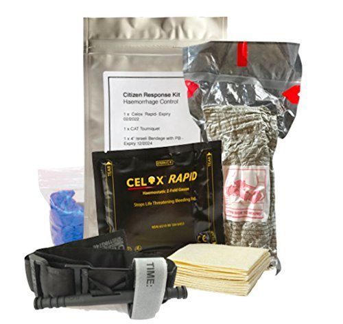 trauma kit - citizen response. Included for medical bandage info.