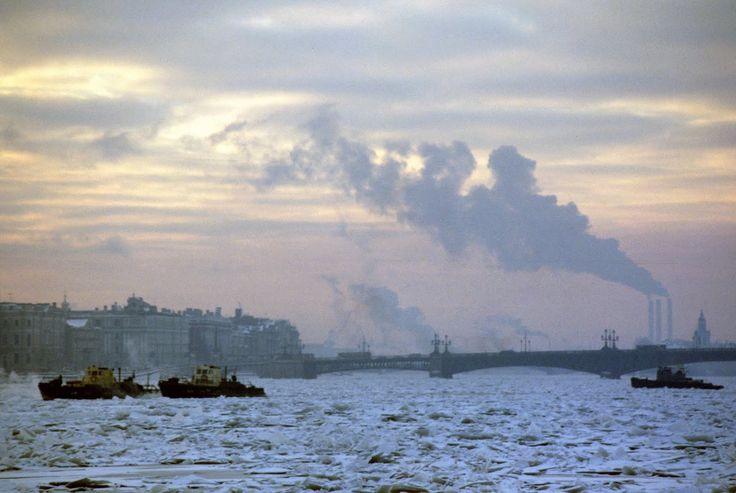 Буксиры на реке Неве