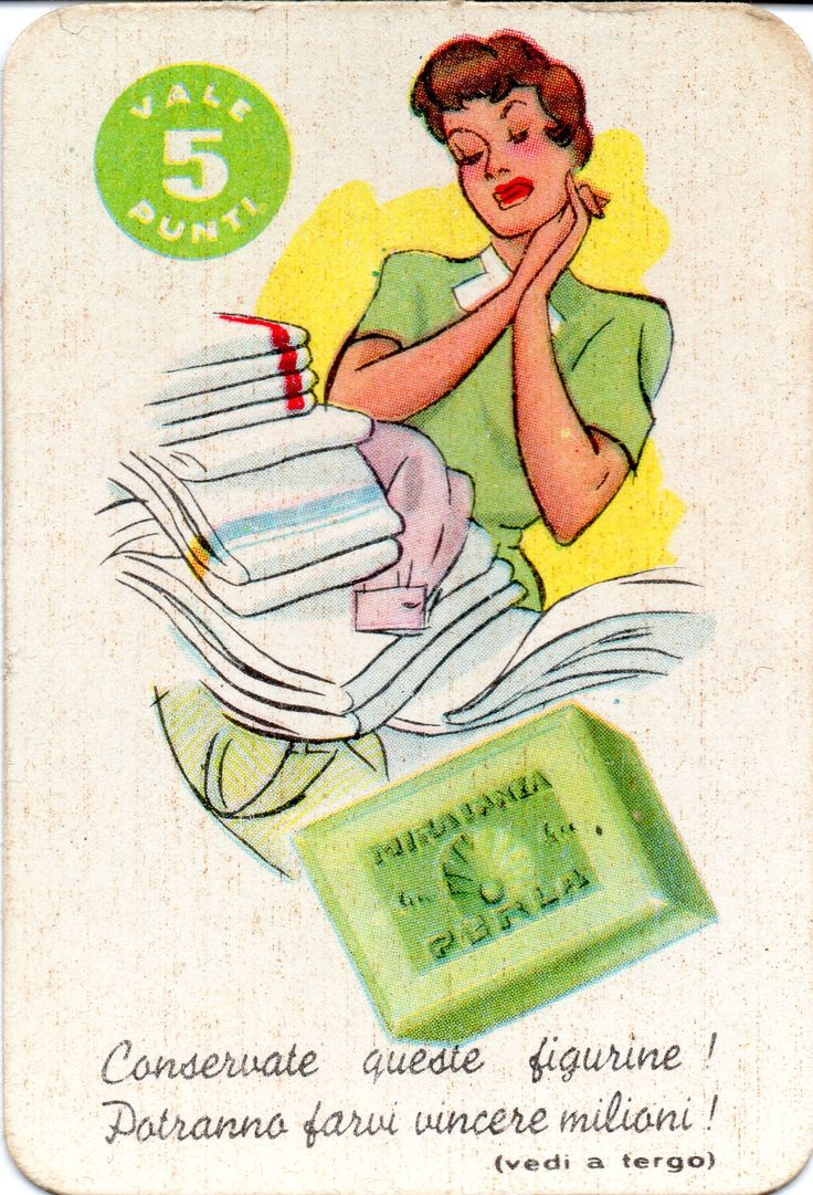 MIRA LANZA SAPONE PERLA - Concorso figurine (1956 M.L.P. 460)