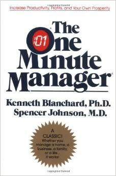 One Minute Manager by Ken Blanchard