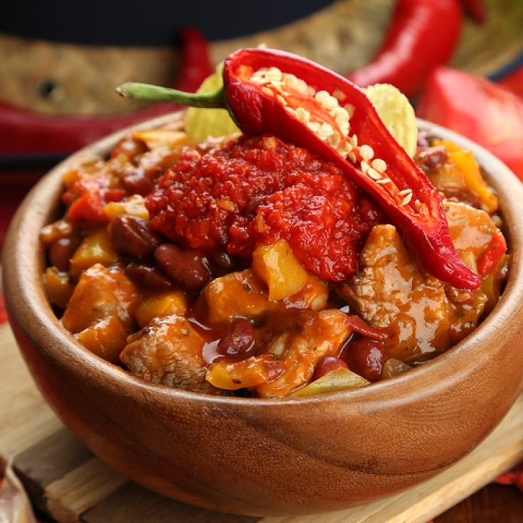 This chili beef stew recipe is a nice alternative to making chili with ground beef.  Its chunky and delicious.
