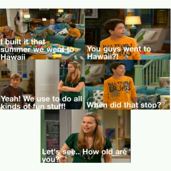 Haha good luck Charlie i know its a kids show but come on guys, its pretty funny ya got 2 admit it.