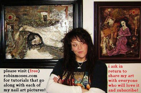 Robin Moses - She has lots of nail art tutorials - awesome designs!