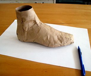 How to make a shoe pattern