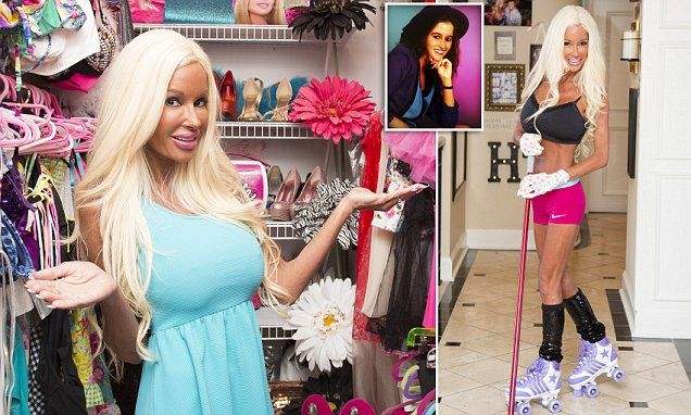 Mother-of five spends $500,000 on surgery to look like Barbie - including 28H breasts - and says she won't stop until she's 70  Read more: http://www.dailymail.co.uk/femail/article-3494737/Mother-five-spent-500-000-plastic-surgery-look-like-Barbie.html#ixzz44NyRGoTp  Follow us: @MailOnline on Twitter | DailyMail on Facebook