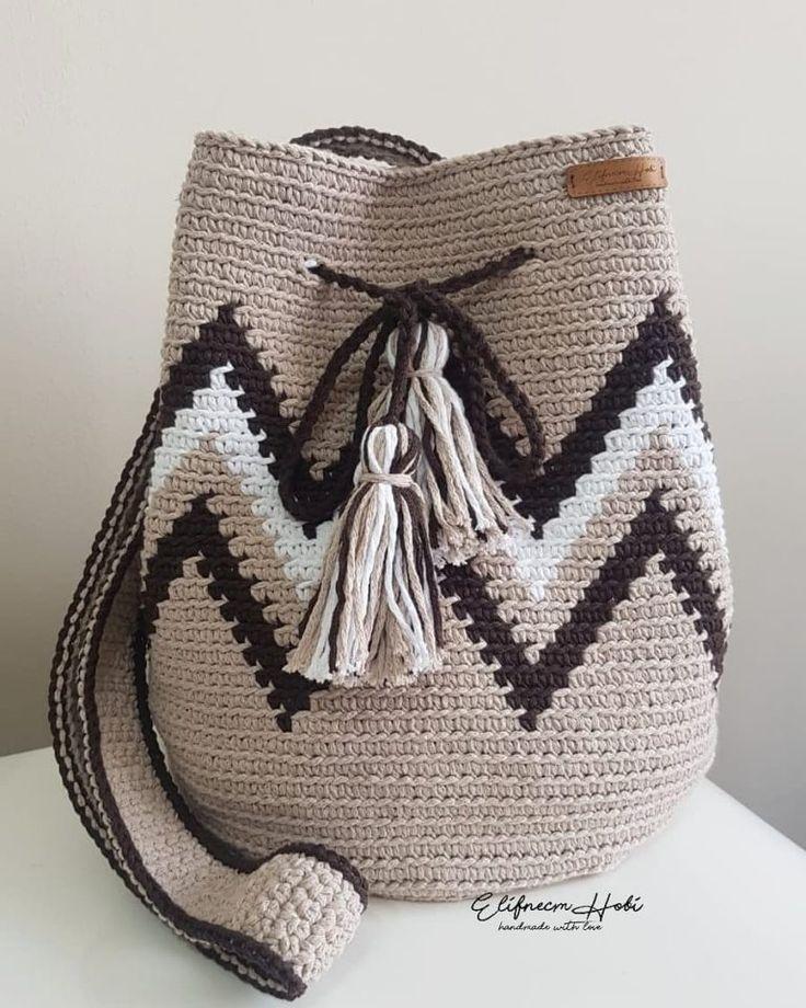 Nuevos diseños para imágenes de patrones de bolsas de ganchillo GRATIS ¡Fácil y elegante! - Página 61 de 61