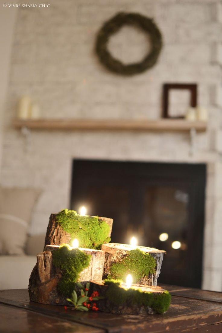 Natale al Verde: candele decorative.