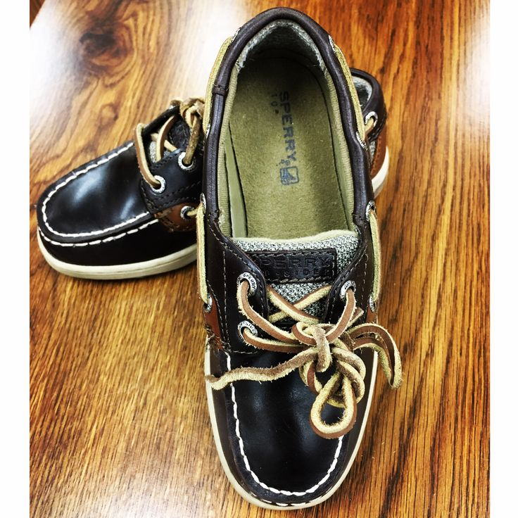 How cute are these little #Sperry's for kids! #goodwillfinds  #sperrylove