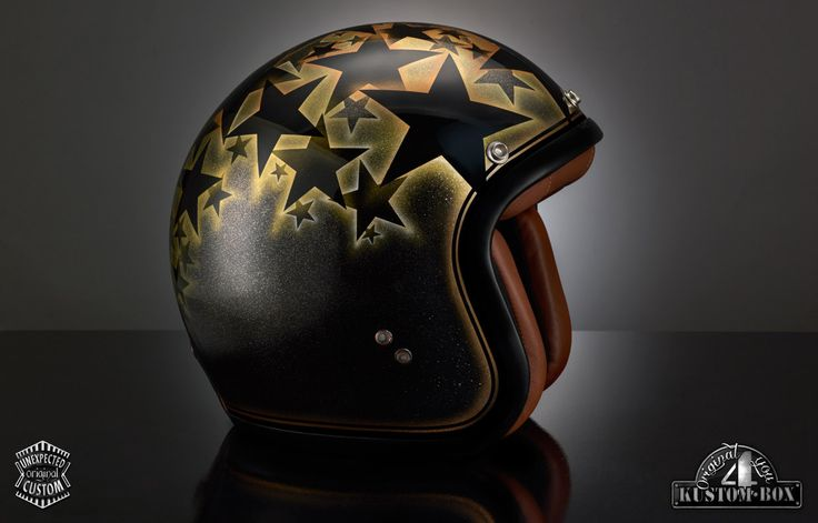 "Casco personalizzato ""Stardust"" - KUSTOM BOX - Original 4 You"