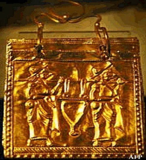 Discovery Made In An Ancient Tomb - Six Golden Pages Of The Oldest Book In The History Of Mankind - MessageToEagle.com
