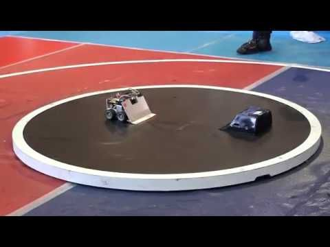 (22) Japan beat UK in robot war. Trust me, you'll watch this again. - YouTube